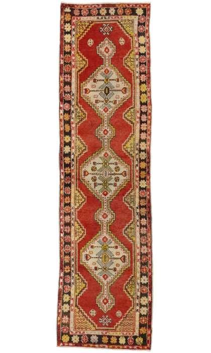 3 x 10 Antique Oushak Rug 50727