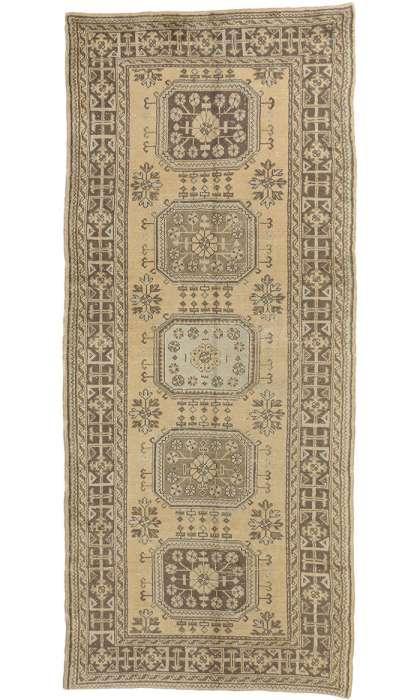 5 x 12 Vintage Oushak Rug 51144