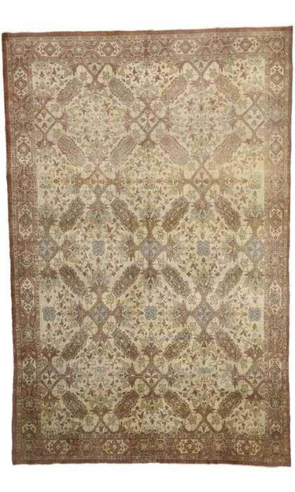 10 x 16 Vintage Tabriz Rug 51164