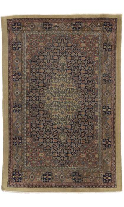 6 x 9 Antique Indian Rug 71853