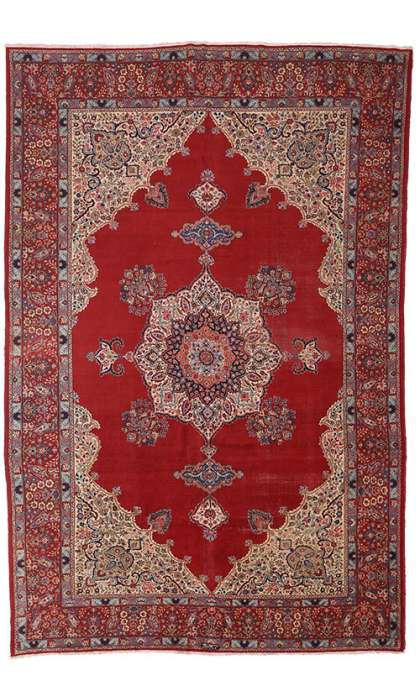 12 x 17 Antique Tabriz Rug 72013