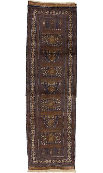3 x 10 Vintage Afghan Rug 72102
