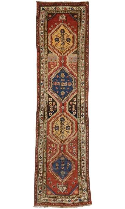 3 x 12 Antique Shiravan Rug 72401