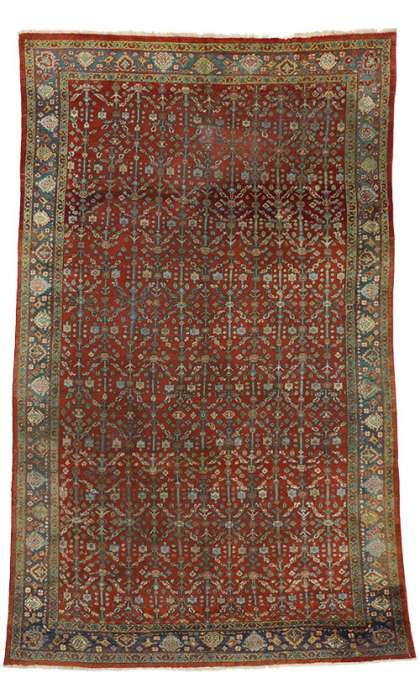 7 x 11 Antique Mahal Rug 72497