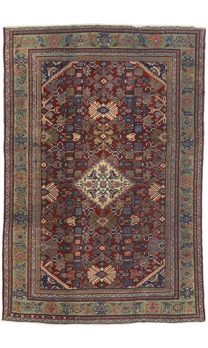 7 x 10 Antique Mahal Rug 72659