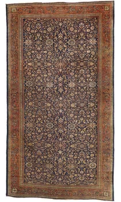 13 x 23 Antique Sultanabad Rug 72909