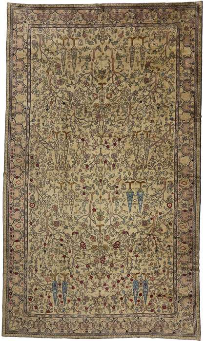 11 x 19 Antique Agra Rug 72912