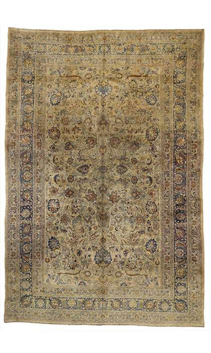 11 x 16 Antique Mashad Rug 72983