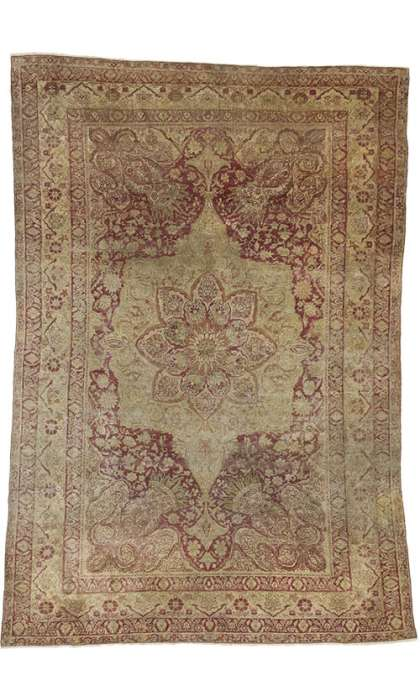 4 x 6 Antique Hereke Rug 73148