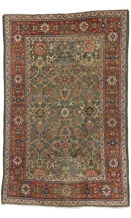 7 x 11 Antique Sultanabad Rug 73173