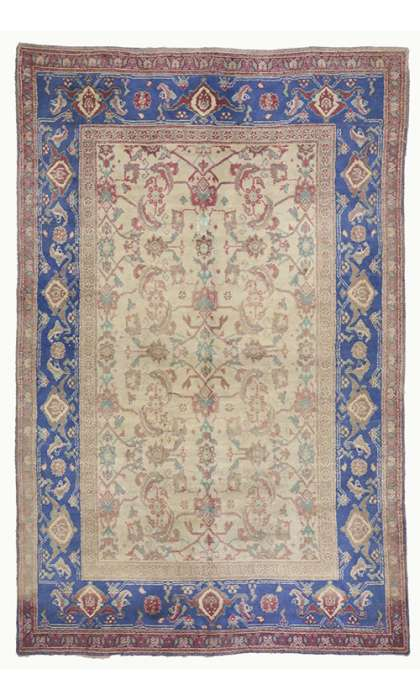 5 x 8 Antique Agra Rug 73276