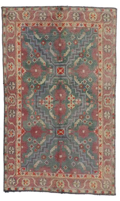 4 x 7 Antique Agra Rug 73302