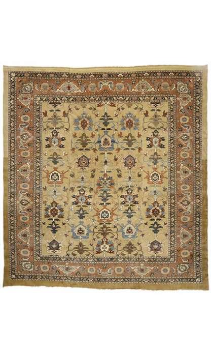 16 x 18 Vintage Sultanabad Rug 73419
