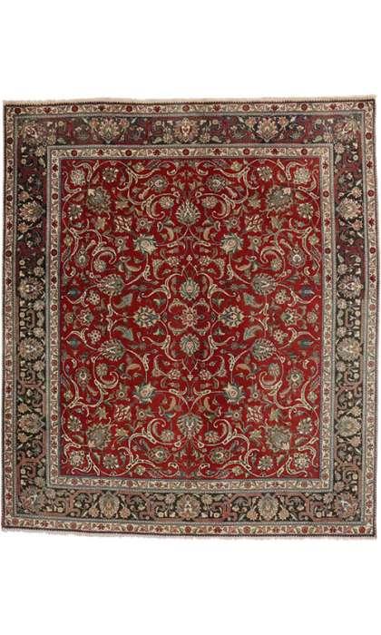 10 x 11 Vintage Tabriz Rug 73462