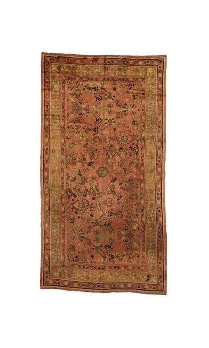 10 x 18 Vintage Donegal rug 73478