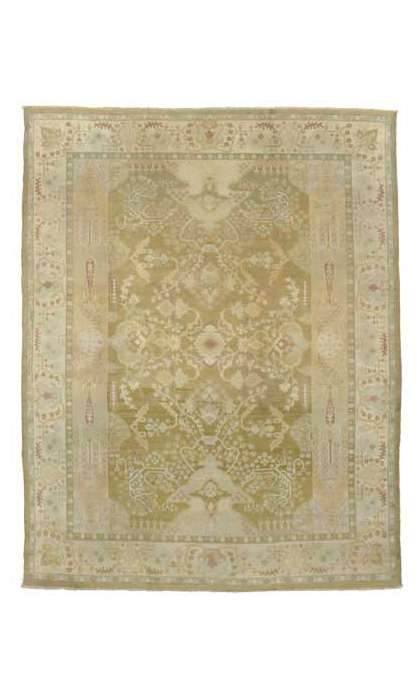 10 x 12 Antique Agra Rug 73595