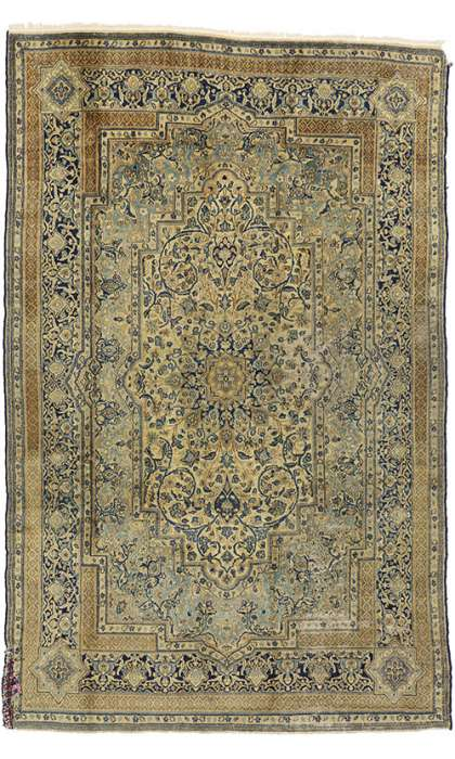 6 x 9 Antique Kerman Rug 73657