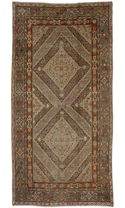 7 x 13 Antique Khotan Rug 73809