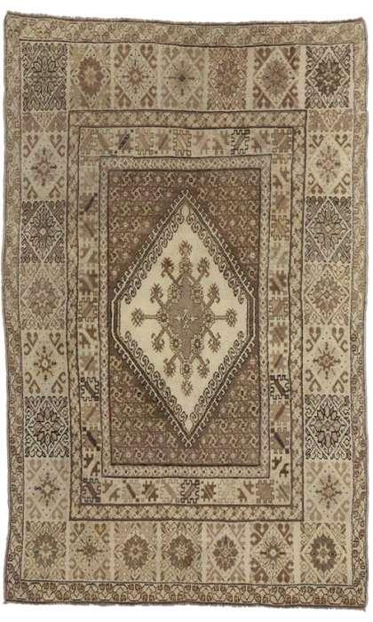 7 x 11 Vintage Moroccan Rug 73992