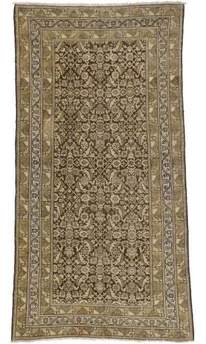 5 x 10 Antique Malayer Rug 74142