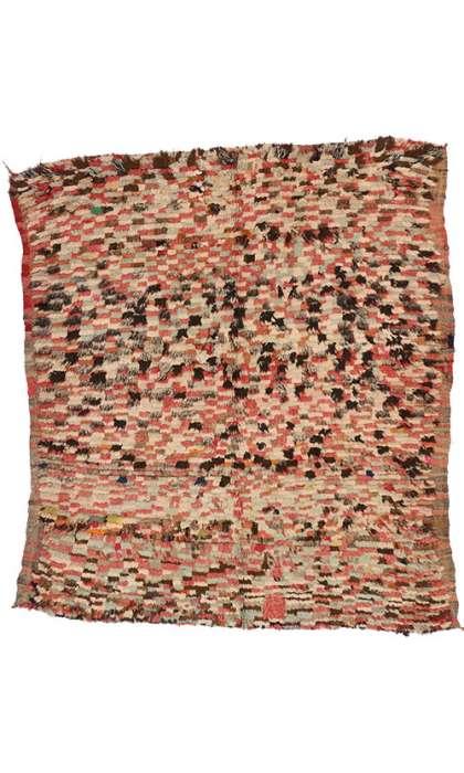 5 x 6 Vintage Moroccan Rug 74171