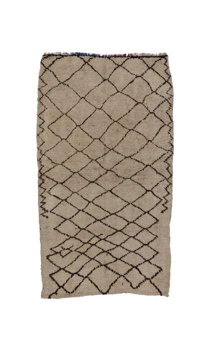 5 x 8 Vintage Moroccan Rug 74172