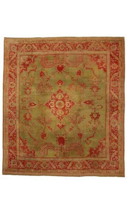 14 x 16 Antique Oushak Rug 74173