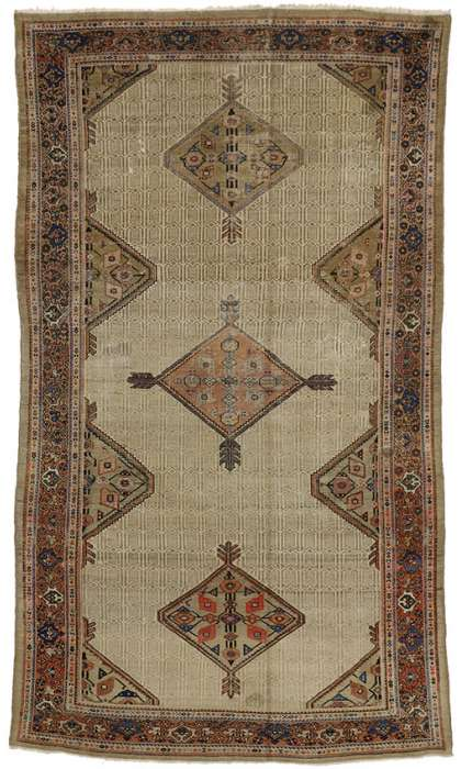 6 x 12 Antique Malayer Rug 74246