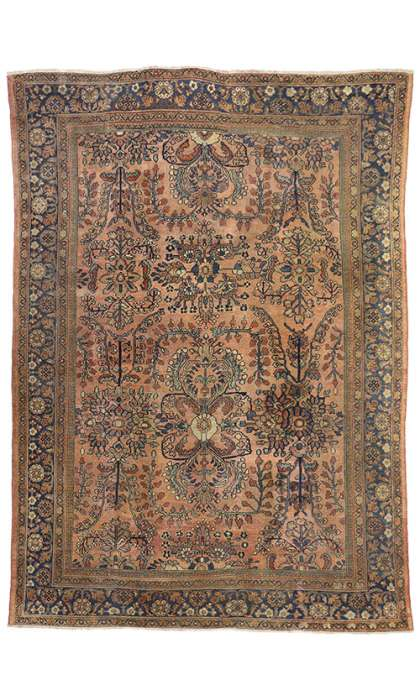 8 x 12 Antique Mahal Rug 74264