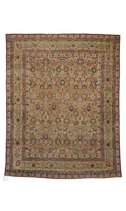 13 x 17 Antique Kermanshah Rug 74298