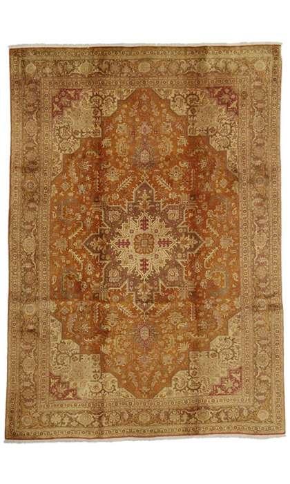 7 x 10 Vitnage Tabriz Rug 74302
