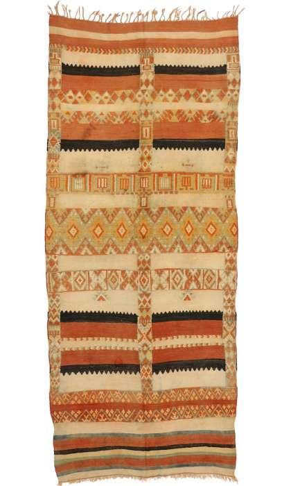 5 x 13 Vintage Moroccan Rug 74464