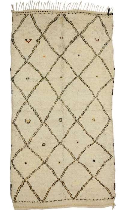 5 x 9 Vintage Moroccan Rug 74468