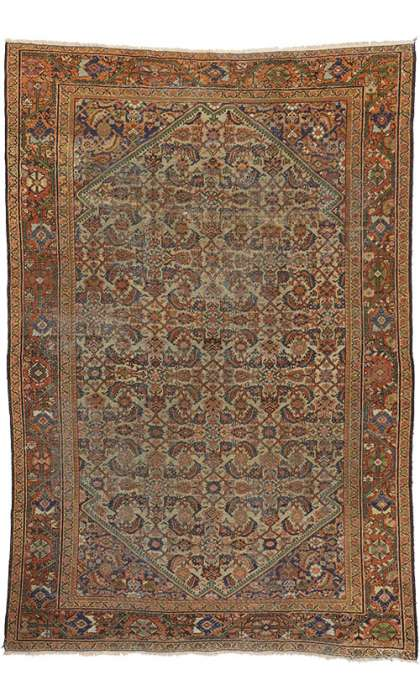 8 x 11 Antique Mahal Rug 74483