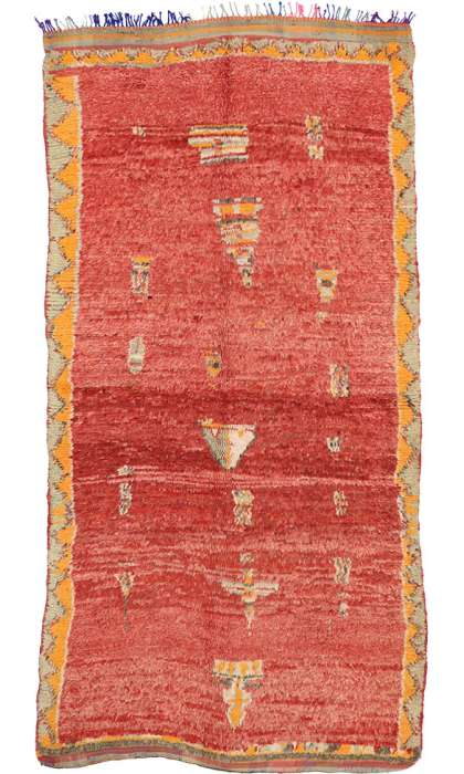 5 x 9 Vintage Moroccan Rug 74517