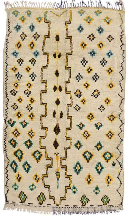 5 x 8 Vintage Moroccan Rug 74543