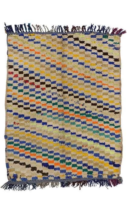 3 x 4 Vintage Moroccan Rug 74553