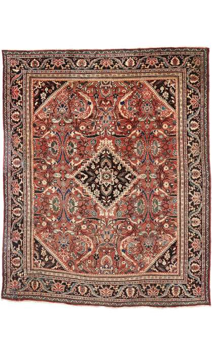 11 x 13 Antique Mahal Rug 74573
