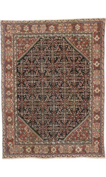 9 x 12 Antique Mahal Rug 74576