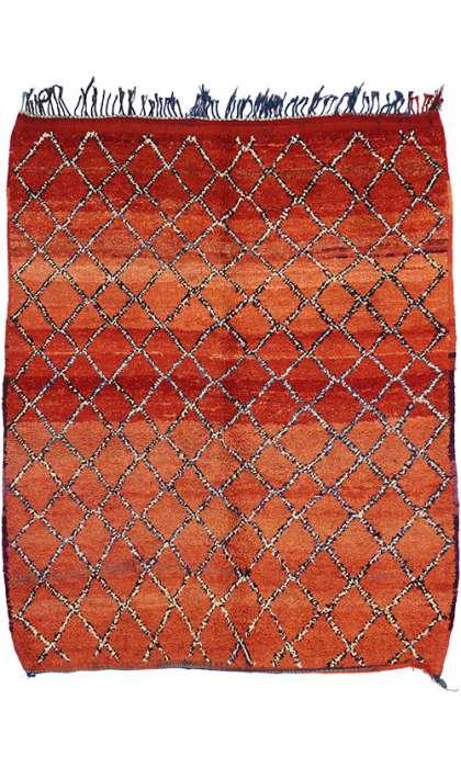 6 x 7 Vintage Moroccan Rug 74805