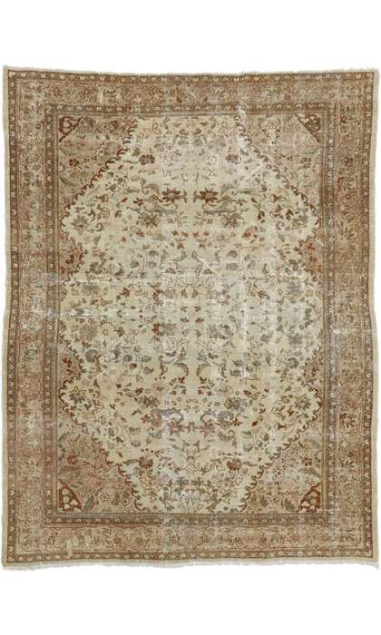 7 x 9 Antique Mahal Rug 74939