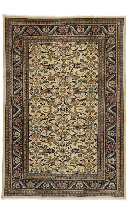 7 x 10 Vintage Mahal Rug 75083