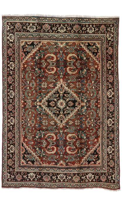 7 x 10 Antique Mahal Rug 75189