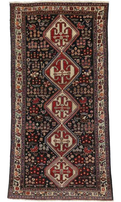 5 x 10 Antique Mahal Rug 75266