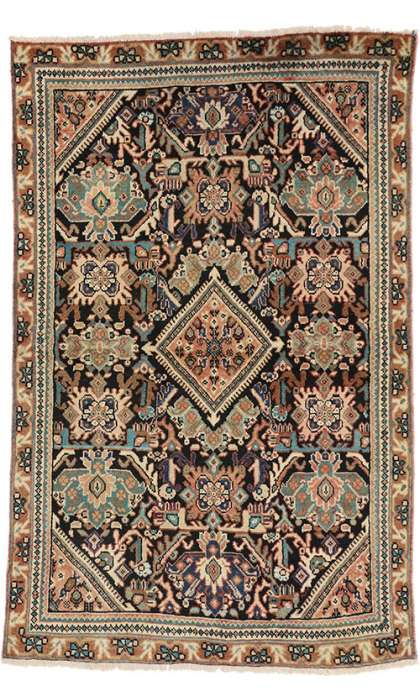 4 x 7 Antique Mahal Rug 75329