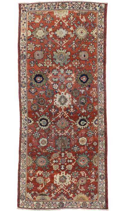 4 x 10 Antique Mahal Rug 75346