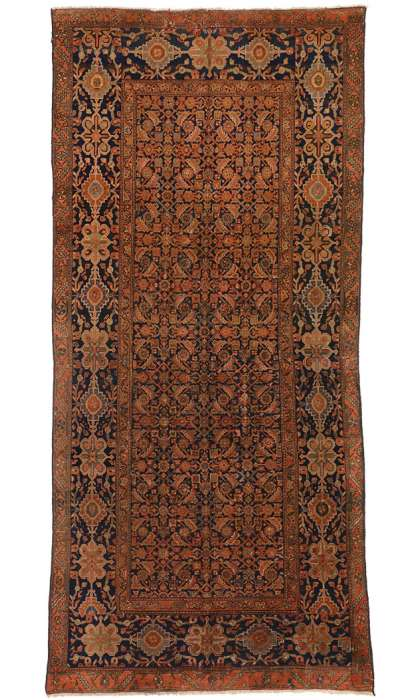 5 x 11 Antique Malayer Rug 75376