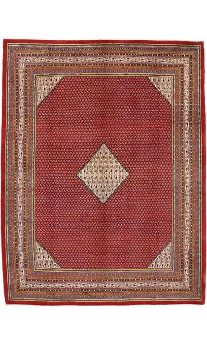 10 x 13 Vintage Mahal Rug 75899
