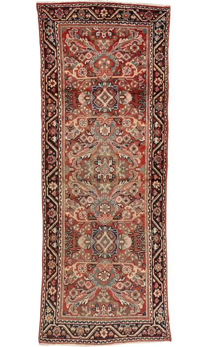 4 x 10 Antique Mahal Rug 75980