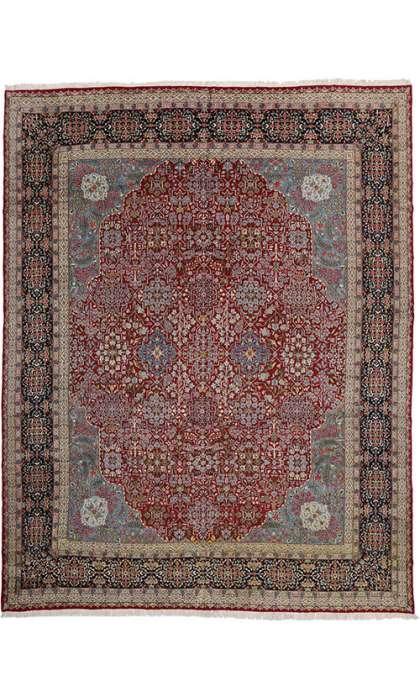 13 x 17 Vintage Kerman Rug 76443